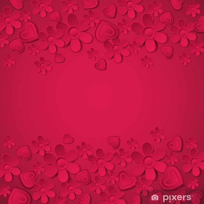 Sfondo rosso san valentino