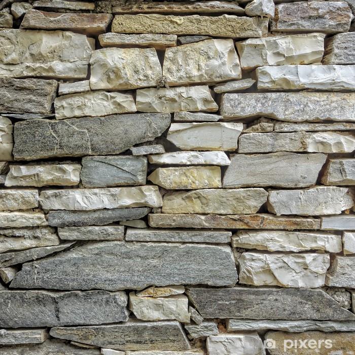 Fotomural Estándar Mármol y pared de piedra de cerca - Estilos