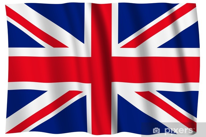 Vinyl-Fototapete Großbritannien Flagge - Nationale flaggen