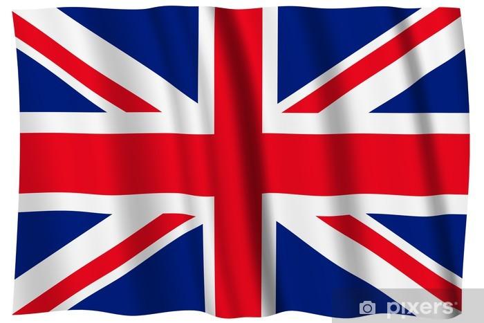 Papier peint vinyle Royaume-Uni Drapeau - Drapeaux nationaux