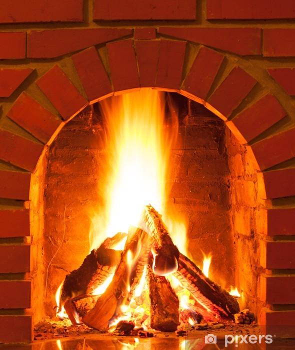Fototapeta winylowa Płonący ogień - Ekologia