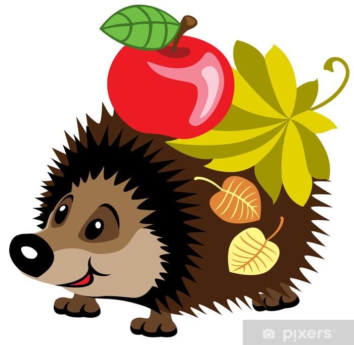 Fototapeta Cartoon Hedgehog ? Pixers? - Żyjemy by zmieniać
