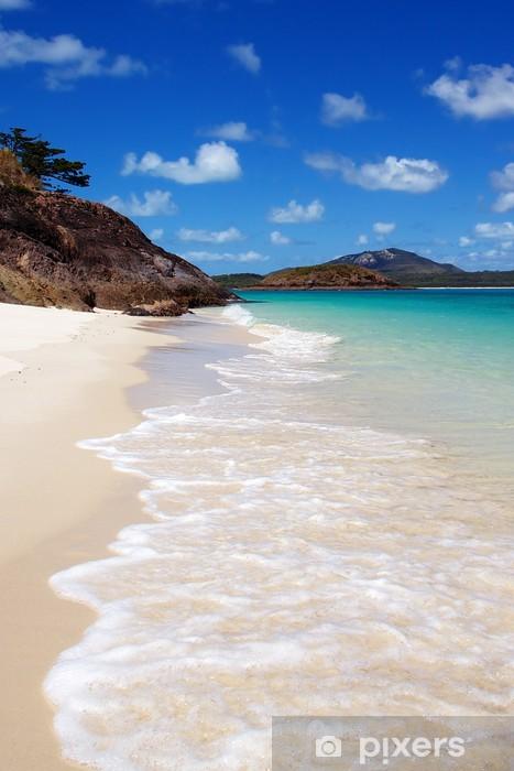 Naklejka Pixerstick Whitehaven Beach, Australia - Oceania