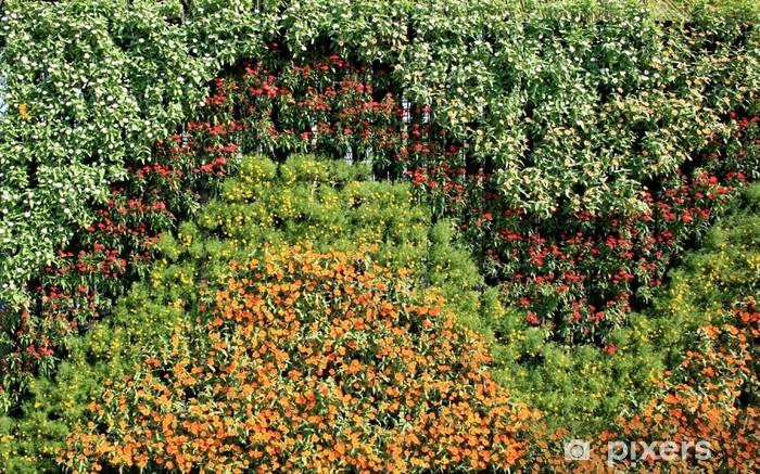 Flower Wall Vertical Garden Wall Mural Pixers We Live To Change