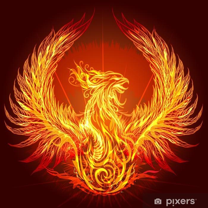 Naklejka Pixerstick Phoenix - Ezoteryka