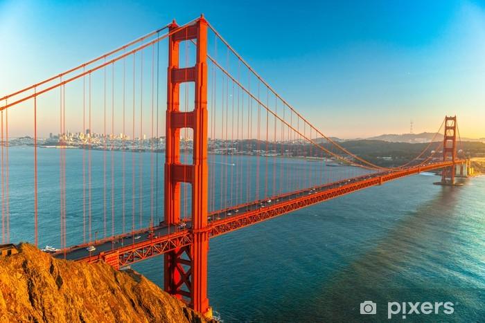 Golden Gate Bridge, San Francisco Vinyl Wall Mural - North America