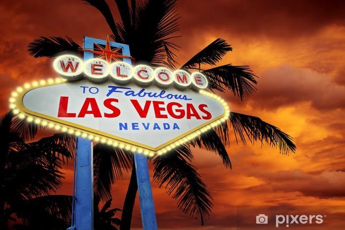 Welcome in Vegas Pixerstick Sticker - Las Vegas