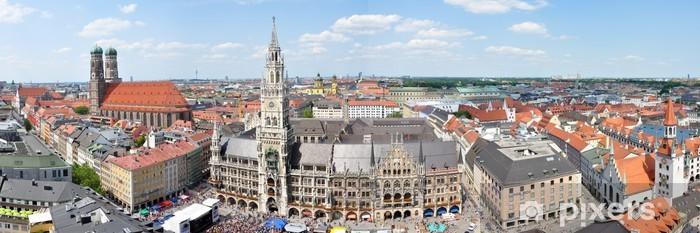 Vinylová fototapeta Stadtzentrum von München - Vinylová fototapeta