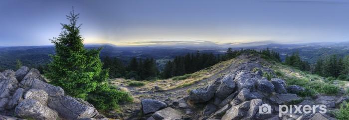 Vinyl-Fototapete HDR-Panorama des Mount Pisgah - Themen