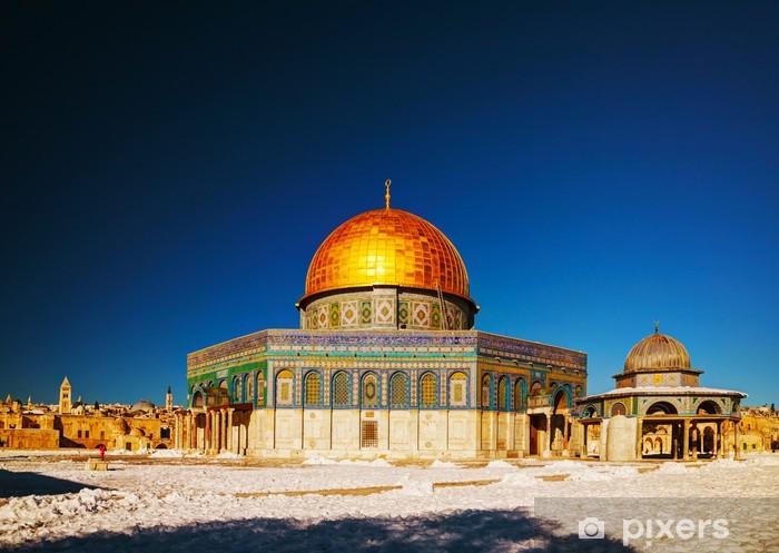 Pixerstick Dekor Klippdomen moskén i Jerusalem - Mellanöstern