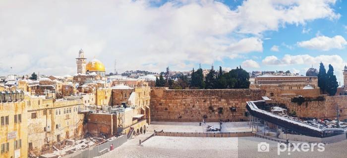 Pixerstick Dekor Västra muren i Jerusalem, Israel - Mellanöstern