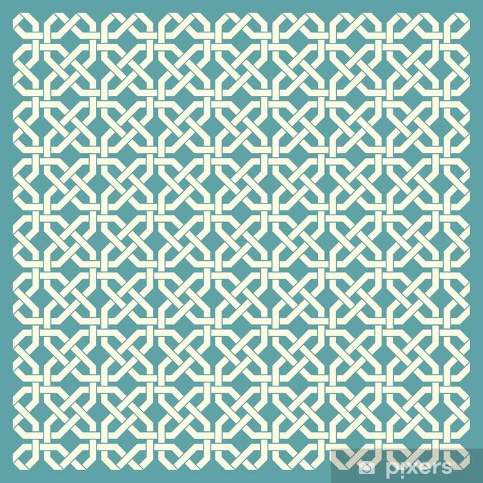 Retro geometrisk sømløs mønster Vinyl fototapet - Baggrunde