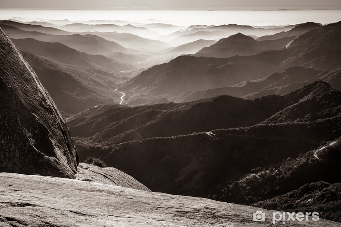 Papier peint vinyle Sequoia National Park - Montagne