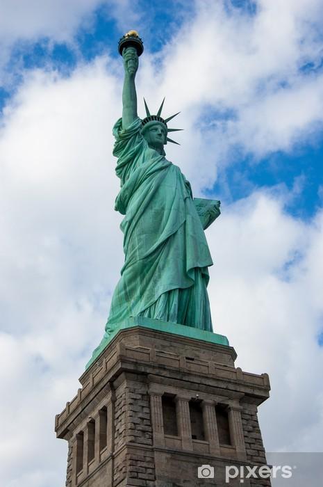 Sticker Pixerstick Estatua de la libertad - Amérique