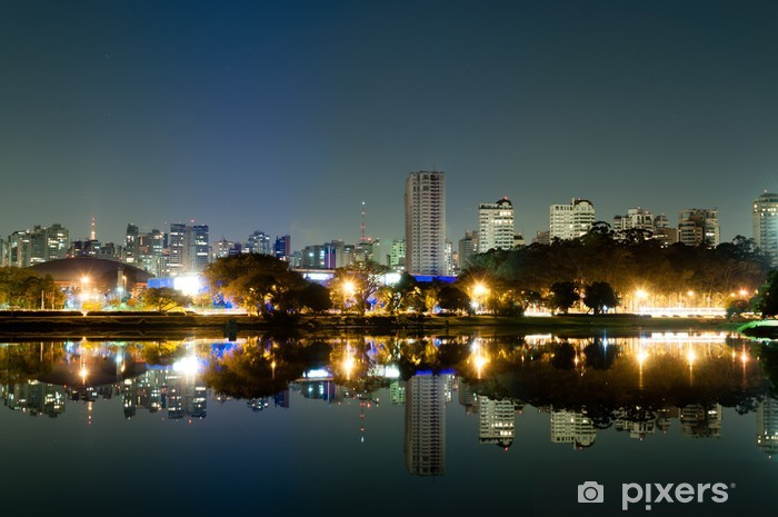 Fototapeta winylowa Park Ibirapuera - Sao Paulo - Tematy