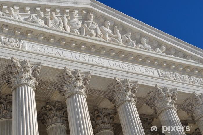 Nálepka Pixerstick Nejvyšší soud Spojených států - Témata