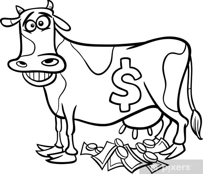 Cow Kleurplaten Poezen Kleurplaten Dieren Dejachthoorn