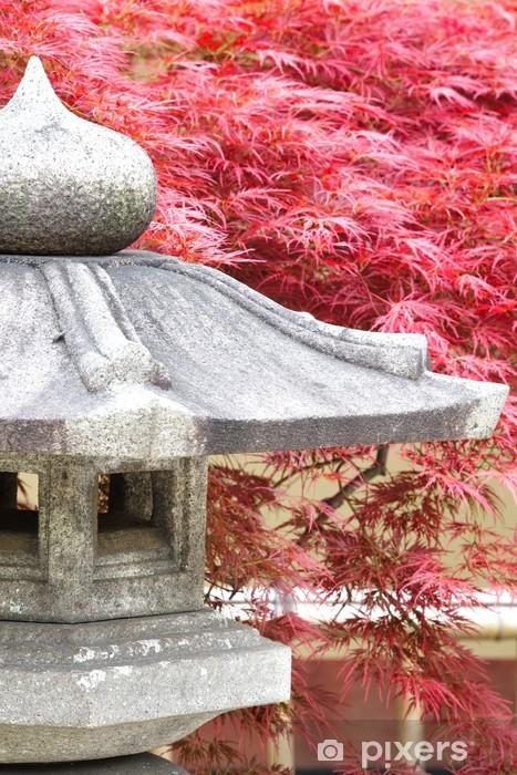 Sticker Pixerstick Japanese garden - Maisons et jardins