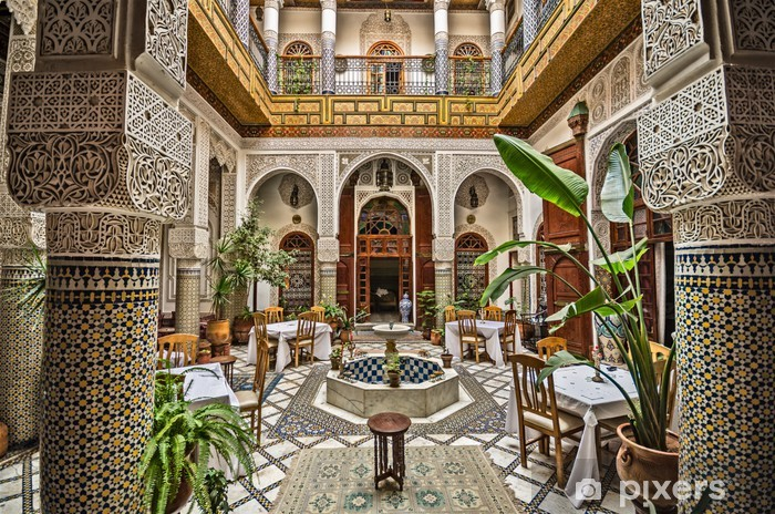Vinilo para Nevera Interior marroquí - África