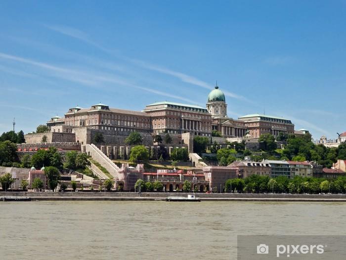 Sticker Pixerstick Château de Buda - Europe