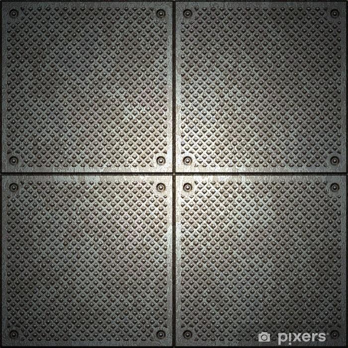 Pixerstick Sticker Textuur van het metaal - Stijlen