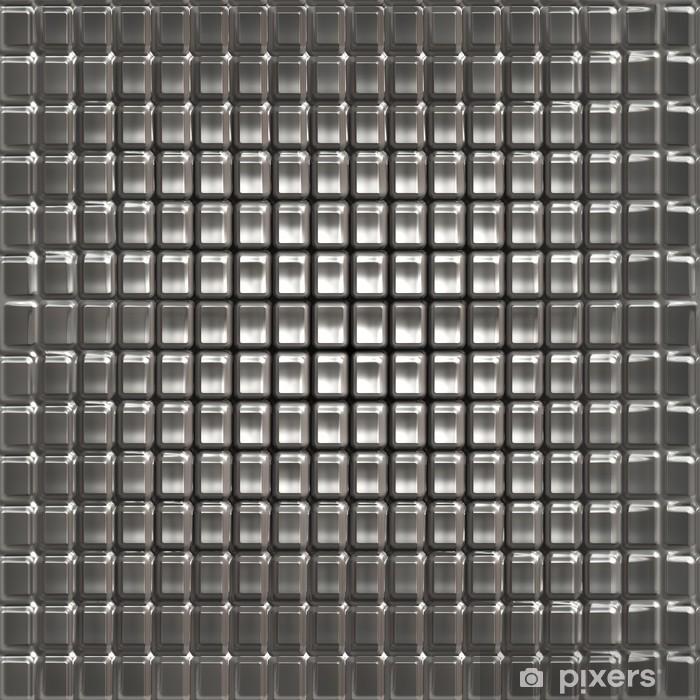 Texture of metal Poster -