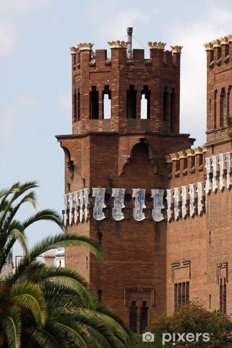 Vinylová fototapeta Muzeum přírodních věd v parku Ciutadella, Barcelona - Vinylová fototapeta