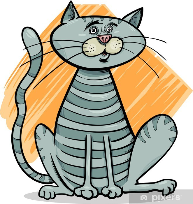 Kissa Piirretty