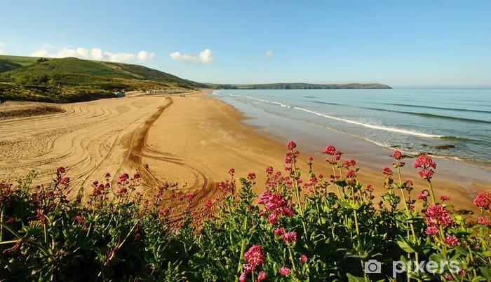 Vinylová fototapeta Woolacombe písky, Devon, Velká Británie - Vinylová fototapeta