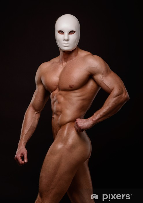 Naken manliga modeller bilder