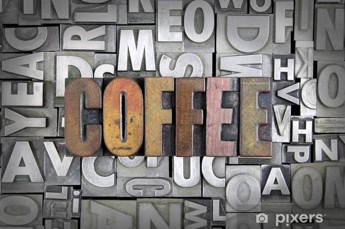 Pixerstick Dekor Kaffe - Teman