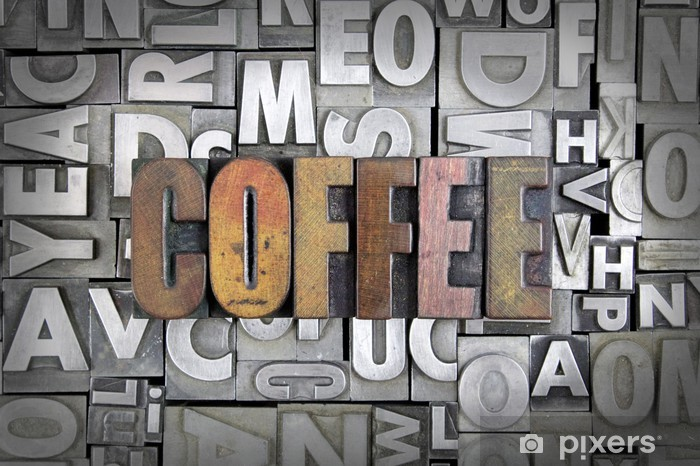 Coffee Pixerstick Sticker - Themes