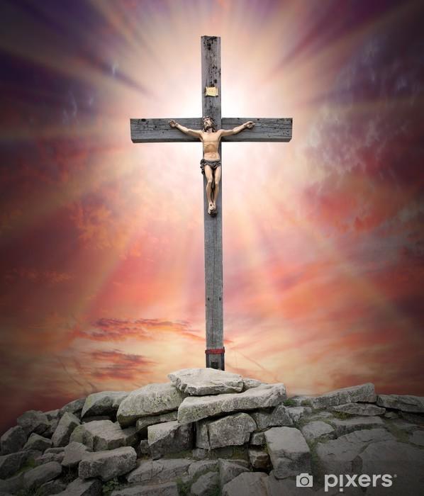 Fototapeta winylowa Jezus Chrystus na krzyżu - Tematy
