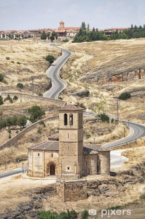 Naklejka Pixerstick Iglesia Romański - Europa
