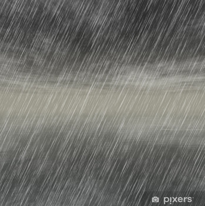 Pixerstick Aufkleber Regen Sturm Hintergründe bei bewölktem Wetter - Hintergründe