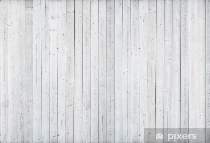 Sticker Pixerstick Mur en bois blanc - Thèmes