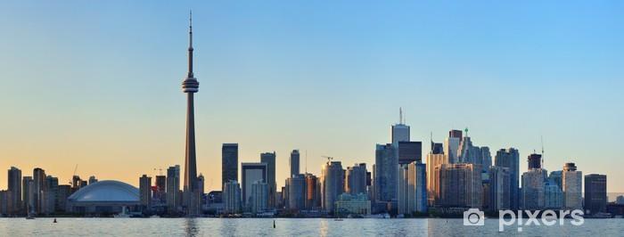 Fototapeta winylowa Toronto skyline - Inne