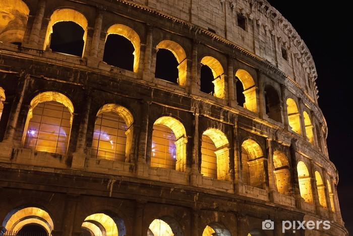 Vinylová fototapeta Koloseum v Římě - Vinylová fototapeta