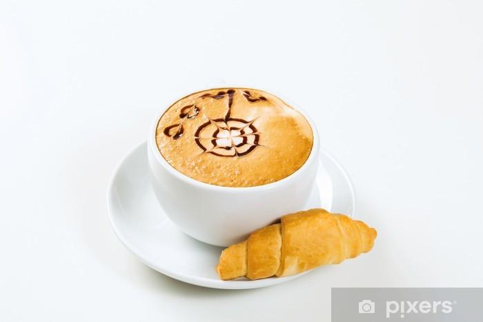 Fototapeta winylowa Filiżanka kawy - Gorące napoje