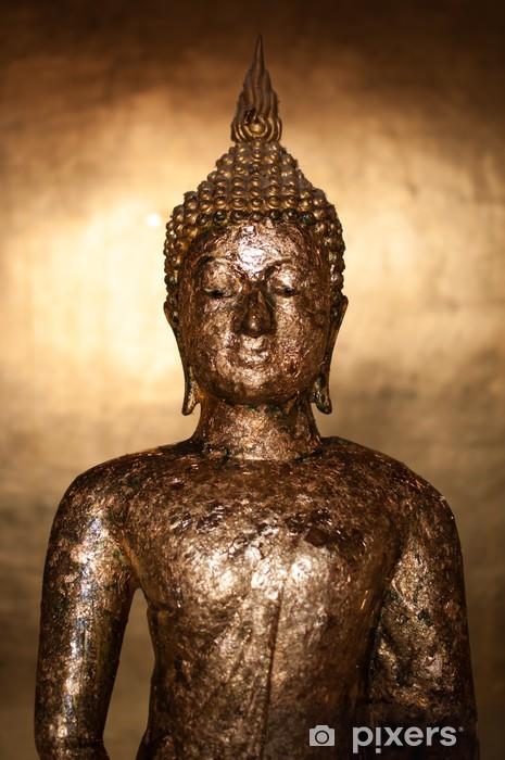 Sticker Pixerstick Bouddha statue - Thèmes
