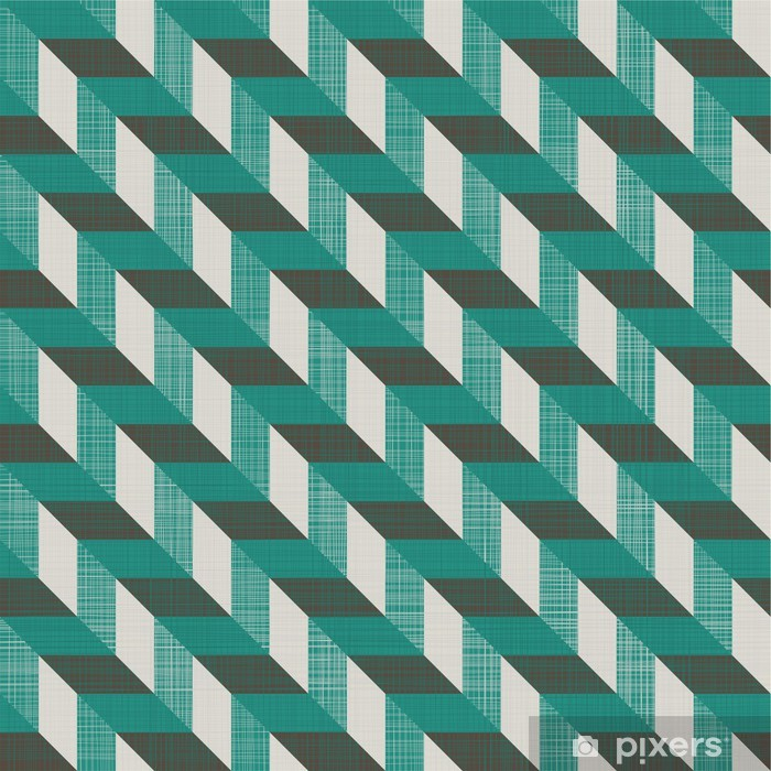 Nálepka Pixerstick Bezešvé retro vzor s diagonálními liniemi - Pozadí