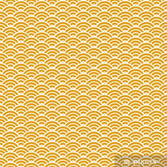 Vinyl-Fototapete Chinese nahtlose Muster - Stile
