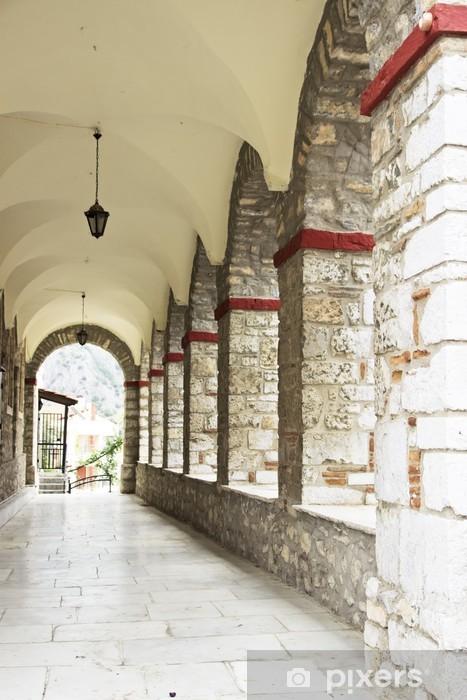 Carte Da Parati Particolari.Carta Da Parati In Vinile Particolari Di Architettura Colonne E Archi
