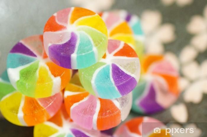 Sticker Pixerstick Bonbons japonais - Desserts et friandises