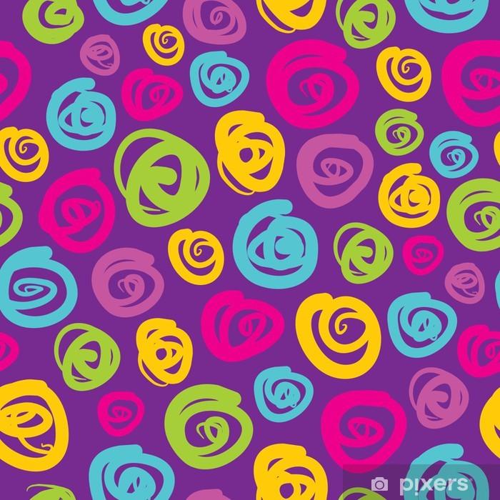 Pixerstick Aufkleber Abstrakten geometrischen Hintergrund - nahtlose Vektor-Muster - Vorlagen
