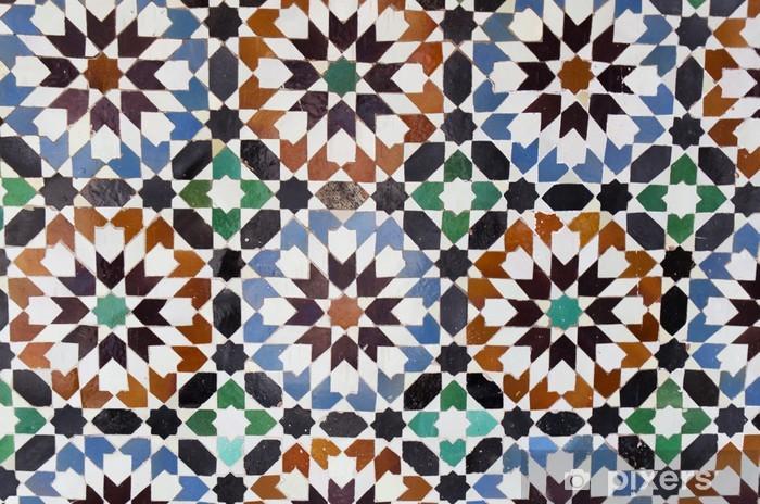 Sticker Pixerstick Mosaïque maroc - Maroc