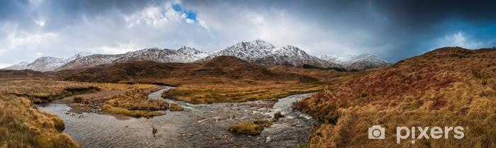 Scottish highlands, dramatic sky Pixerstick Sticker - Europe