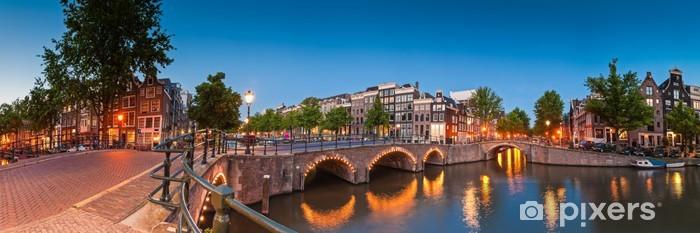 Sticker Pixerstick Réflexions d'Amsterdam, Pays-Bas - Thèmes