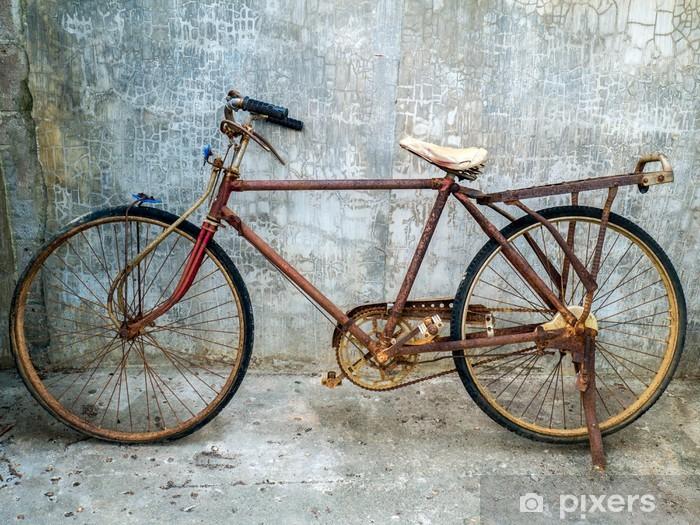 Sticker Pixerstick Old vintage vélo - Vélos