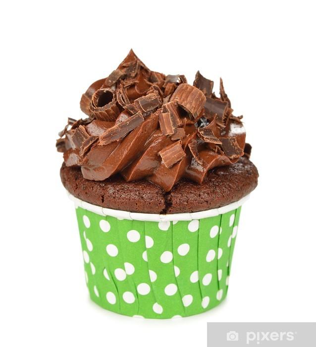 Sticker Pixerstick Petits gâteaux au chocolat - Desserts et friandises